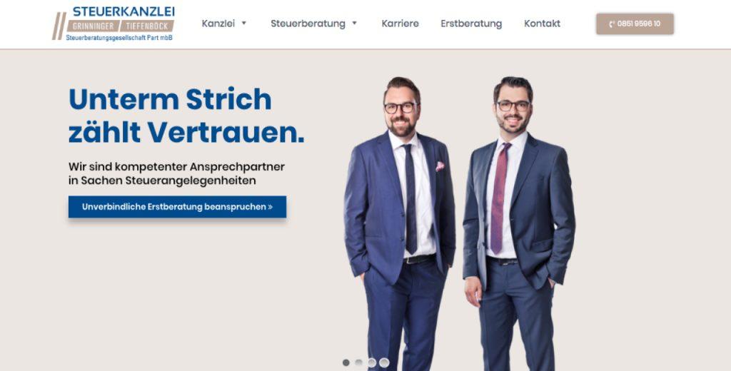 Steuerkanzlei Grinninger-Tiefenböck